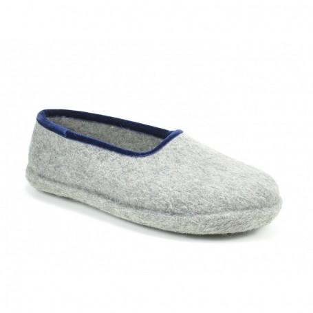 Haunold Pantofole Grigio Blu